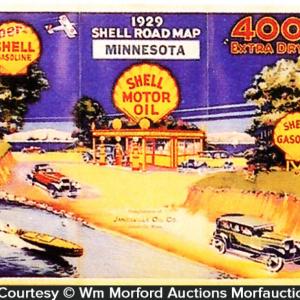 Shell Motor Oil Map