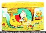 Vintage Children's Tin Bank