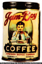 Jam Boy Coffee Tin