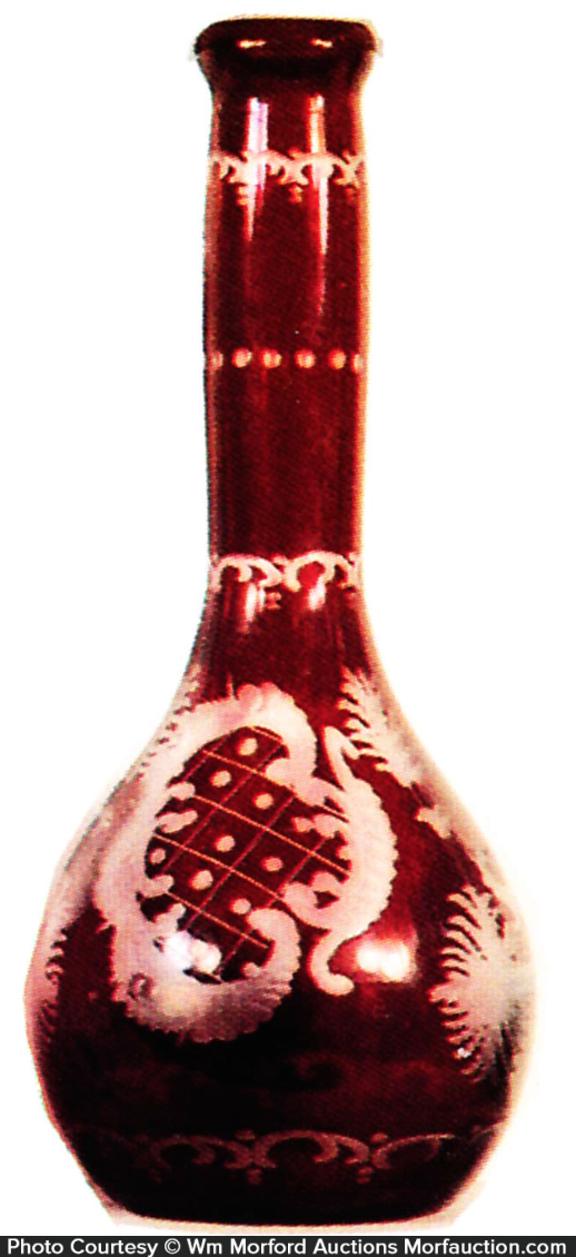 Bohemian Barber Bottle