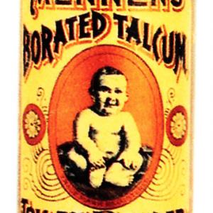 Mennen's Talcum Tin