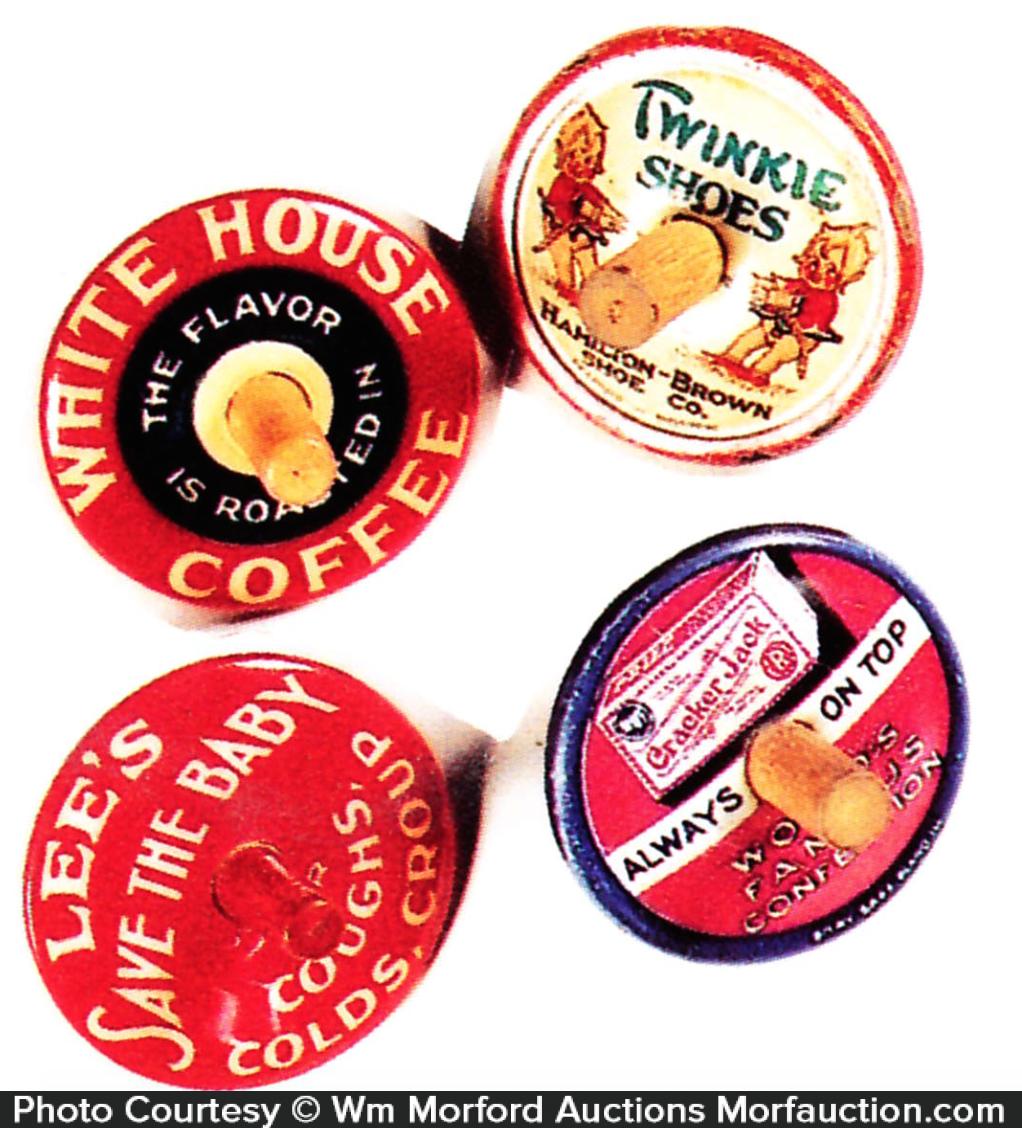 Vintage Advertising Tops