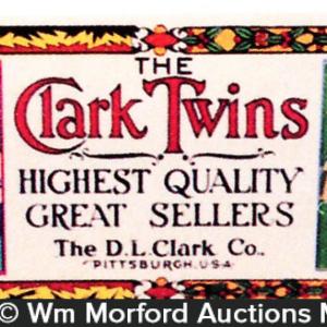 Clark Twins Gum Blotter