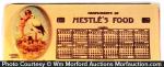 Nestle's Celluloid Pocket Calendar