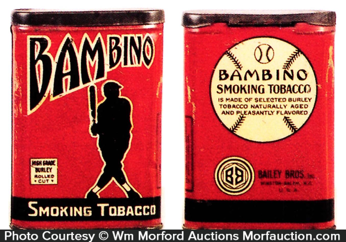 Bambino Tobacco Tin