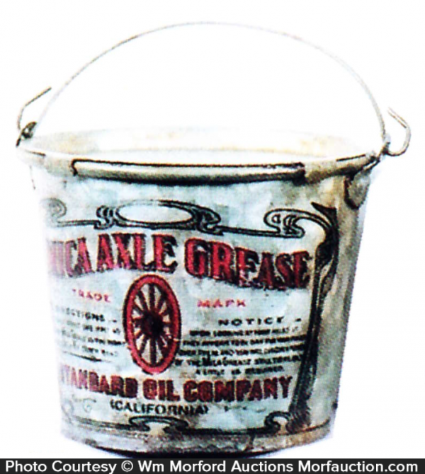 Standard Oil Axle Grease Pail