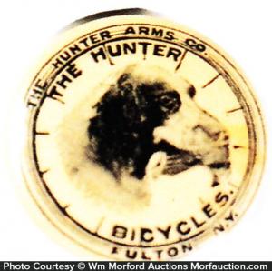 Hunter Bicycles Pin