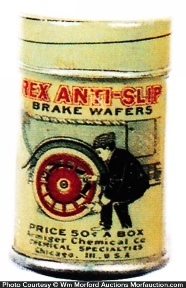 Rex Brake Wafers Tin
