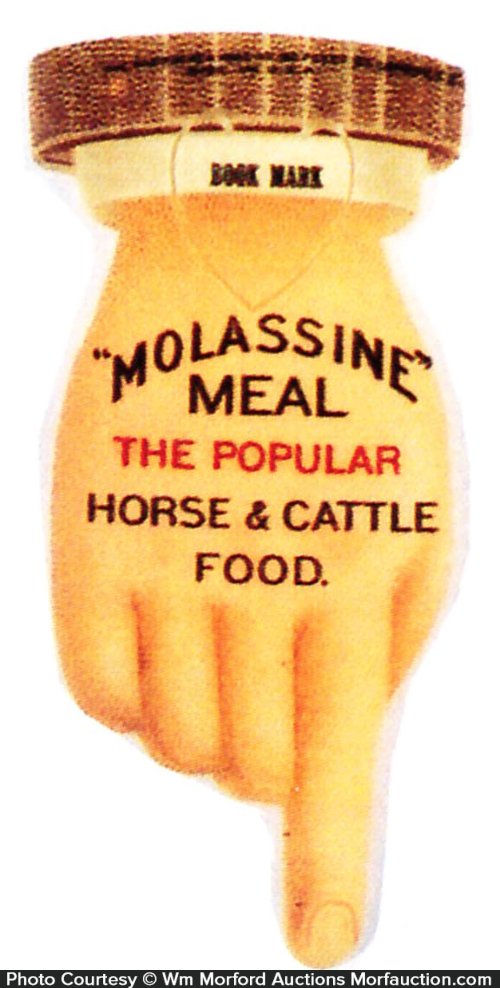 Molassine Meal Bookmark