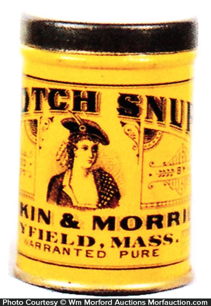 Scotch Snuff Can