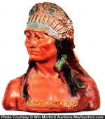 Chief Watta Pops Display