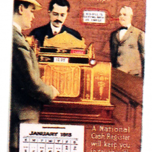 National Cash Register Calendar