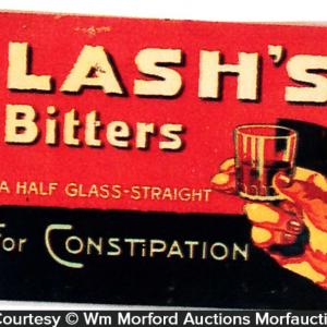 Lash's Bitters Sign