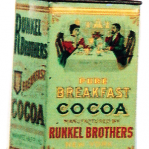 Runkel Brothers Cocoa Tin
