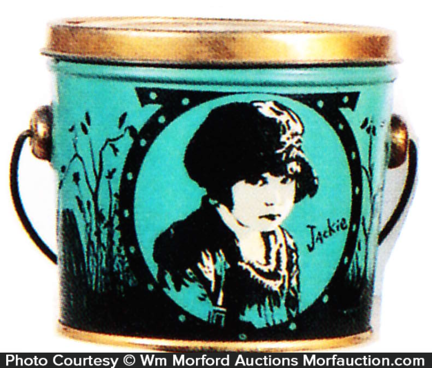 Jackie Coogan Candy Pail