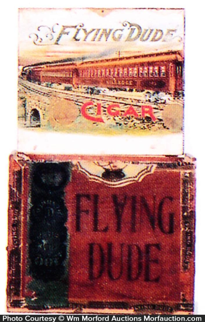 Flying Dude Cigar Box