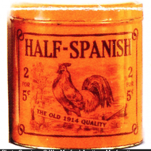 Half-Spanish Cigar Tin