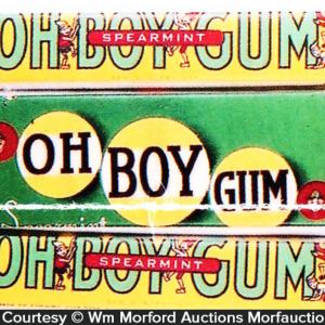 Oh Boy Gum Sticks