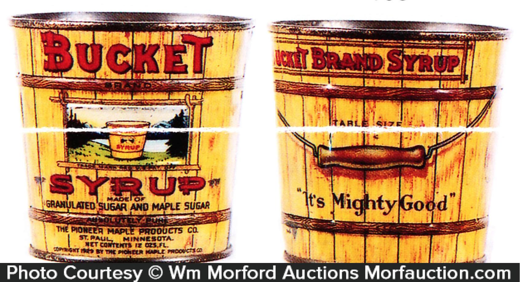 Bucket Syrup Tin