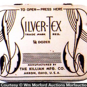 Silver-Tex Condom Tin