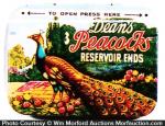 Dean's Peacock Condom Tin