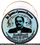 Dr. Daniels' Liniment Powder Tin