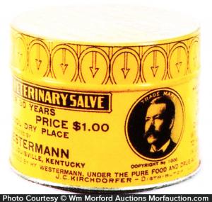 Westermann's Salve Tin