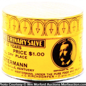 Westermann's Salve Tin