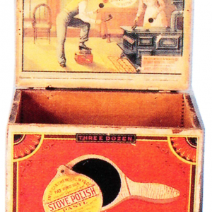Stove Polish Paste Box