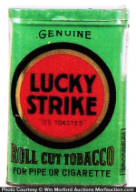 Lucky Strike Roll Cut Tobacco Tin