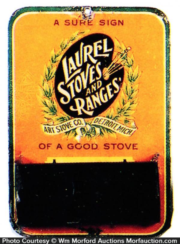 Laurel Stoves Match Holder
