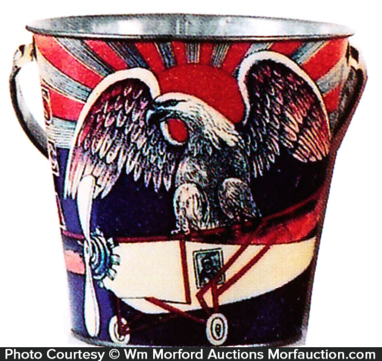 Sea Side Eagle Sand Pail