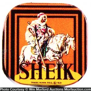 Sheik Condom Tin