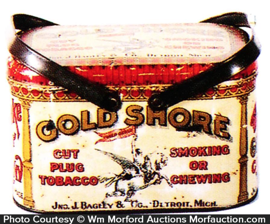 Gold Shore Tobacco Pail