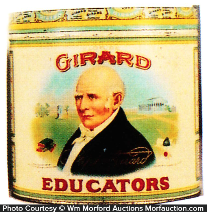 Girard Educators Cigar Can