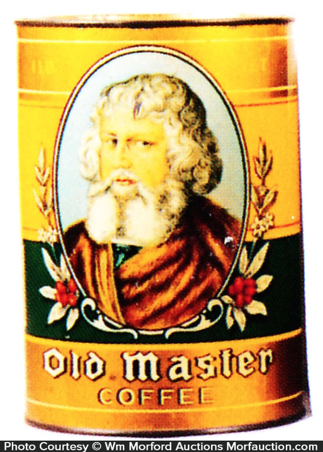 Old Master Coffee Can