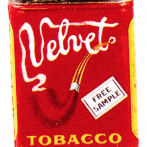 Velvet Free Sample Tobacco Tin