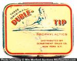 Duble-Tip Condom Tin