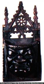 Vintage Iron Match Holder