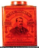 Moses Cough Drop Tin