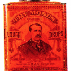 Moses Cough Drop Tin
