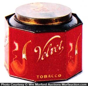 Velvet Tobacco Can