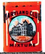 Maryland Club Tobacco Tin