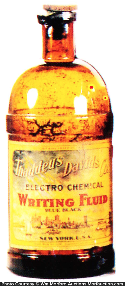 David's Writing Fluid Ink Bottle