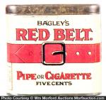Red Belt Tobacco Tin