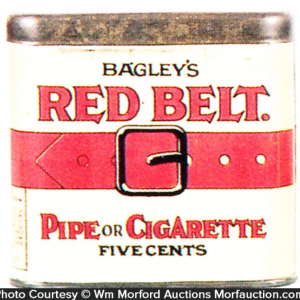 Red Belt Tobacco Tin