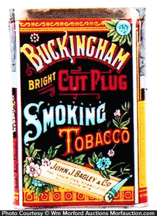 Buckingham Bright Tobacco Tin