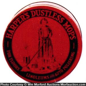 Harper's Dustless Mops Tin