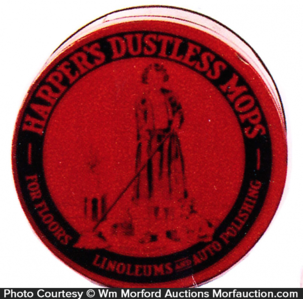 Harper's Dustless Mops Tin