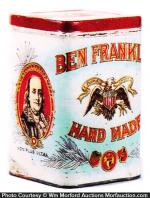 Ben Franklin Cigars Tin